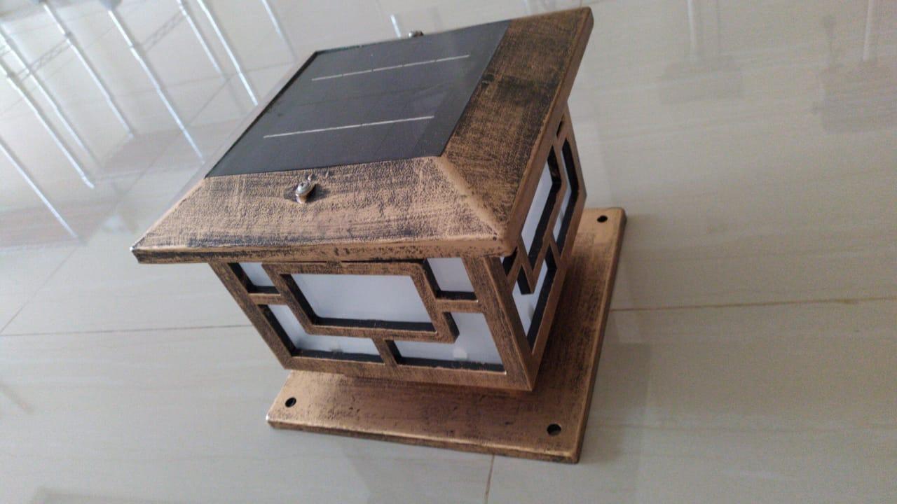 lampu taman solar energi