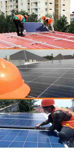 Paket Pasang PLTS Panel Surya Off-Grid System Rumah, Kantor, Ruko, Pabrik, Gudang
