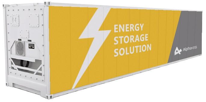 ENERGY STORAGE SYSTEM - INVERTER HYBRID INDUSTRIAL
